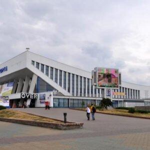 Экран возле Дворца спорта г.Минск