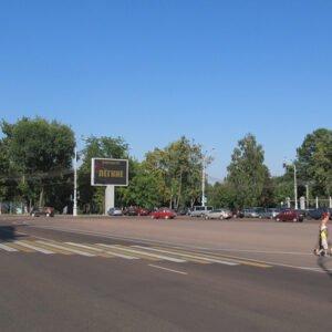 Экран на пл.Ленина г.Гомель