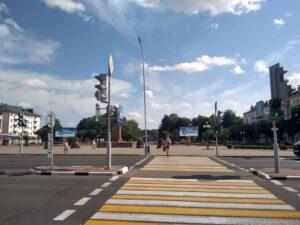 Экраны на Центральной Площади г.Орша