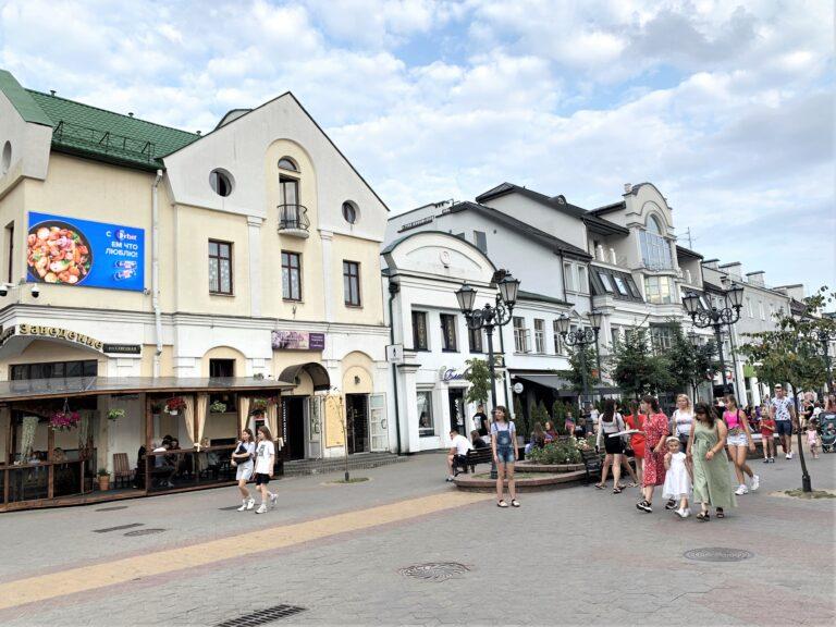 Экран на ул.Советская г.Брест