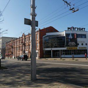 Экран на ТЦ «Магнит» Могилев