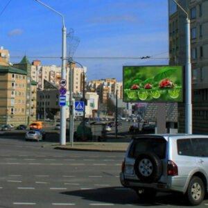 Экран  пр. Машерова – ул. Тимирязева г.Минск