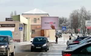 Экран на пр.Речицкий,5В (стоянка ТРЦ «Мандарин Плаза») г.Гомель